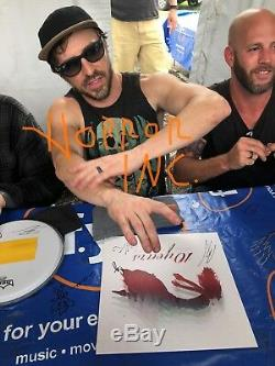 10 TEN YEARS BAND AUTOGRAPHED SIGNED VINYL ALBUM With EXACT SIGNING PICTURE PROOF