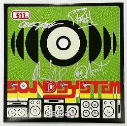 311 BAND SIGNED SOUNDSYSTEM VINYL LP RECORD ALBUM WithCOA NICK HEXUM