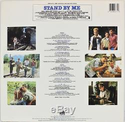 3 Reiner, Dreyfuss & Cusack Signed Stand By Me Album Cover With Vinyl BAS #A12620