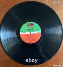 ABBA The album 1977 dédicacé 4 autographes avec certificat signed very rare COA