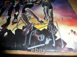 ACE FREHLEY KISS signed/autographed DESTROYER vinyl record album JSA CERTIFIED
