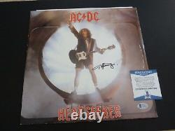 AC/DC Angus Young Heat Seeker Signed Autographed 12 LP Album Beckett Certified