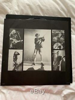 AC DC SIGNED Back In Black ALBUM Signed by Band Members