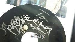 AEROSMITH Steven Tyler Joe Perry frame Signed Autographed album record VIP pass