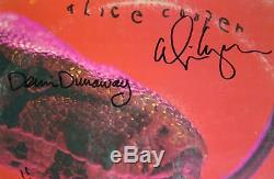 ALICE COOPER GROUP Signed Autograph Killer Album Vinyl Record LP by All 4