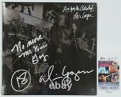 ALICE COOPER SIGNED LIVE AT THE ASTROTURF LP VINYL RECORD ALBUM WithJSA CERT RSD