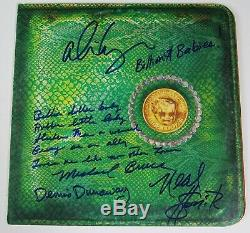 ALICE COOPER Signed Autograph Billion Dollar Babies Album Vinyl Record LP by 4