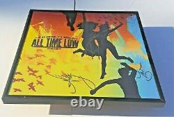 ALL TIME LOW Band SIGNED + FRAMED So Wrong It's Right Vinyl Record Album