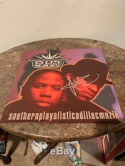 ANDRE 3000 Autographed Signed Vinyl Record Album Southernplaya OutKast Big Boi
