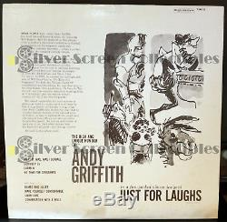 ANDY GRIFFITH AUTOGRAPHED LP RECORD ALBUM withCOA