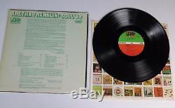 ARETHA FRANKLIN Signed Autograph Soul'69 Album Vinyl Record LP