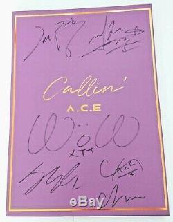 A. C. E SIGNED Callin Makestar album RARE