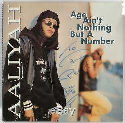 Aaliyah signed autographed 1994 record album! RARE! Epperson! JSA LOA