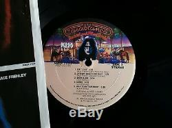 Ace Frehley Signed Autographed! KISS Solo Album! Obtained in Person