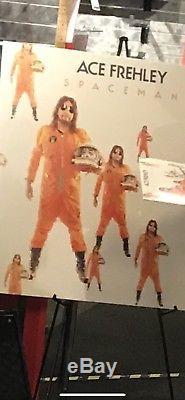Ace Frehley Signed Spaceman Orange Vinyl Lp Album Kiss Nyc