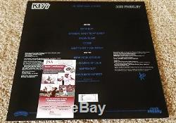 Ace Frehley Signed Vinyl Record Lp Album Kiss 2018 Jsa Coa The Spaceman Sketch
