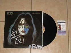 Ace Frehley signed KISS Solo 1978 Album LP Record Vinyl Auto Autographed JSA