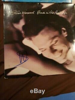 Air Supply, Van Halen Beach Boys And Steve Winwood Signed Albums 4 Total