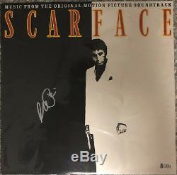 Al Pacino Signed Scarface Record Album Tony Montana Auto Beckett BAS COA