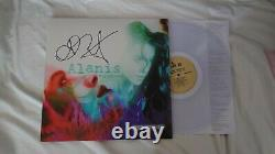 Alanis Morrisette Personally Autograph Jagged Little Pill Clear Vinyl LP Signed