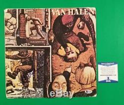 Alex Van Halen Signed Fair Warning Lp Album Certified With Beckett Coa Eddie