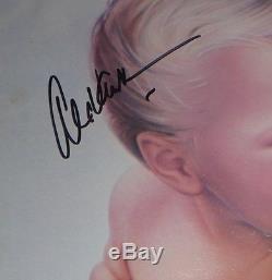 Alex van halen signed 1984 album vh van halen autographed lp