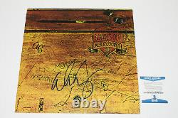 Alice Cooper Signed'school's Out' Vinyl Album Record Lp Proof Beckett Coa Bas