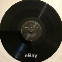 Annie Lennox Signed Nostalgia Vinyl Record Album- Autographed PSA/DNA