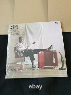 Arlo Parks -Collapsed In Sunbeams Signed 12'' Clear Vinyl Album
