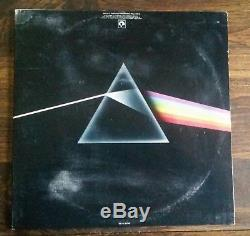 Autographed Pink Floyd Dark Side Of The Moon Album Signed By 4 Gilmour Waters