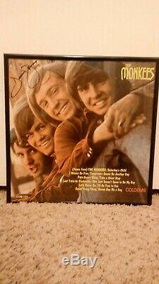 Autographed The Monkees LP Record Album hand signed by Davy Jones (deceased)