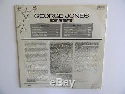 Autographed/sealedgeorge Jonesrockin The Country33 1/3 Lp-phono Record Album