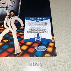 BARRY GIBB signed autographed SATURDAY NIGHT FEVER ALBUM BEE GEES BECKETT COA