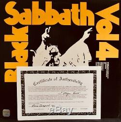 BLACK SABBATHAutographed VOLUME 4 Album By All Four withCOAMint! Ozzy Osbourne