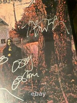 BLACK SABBATH Signed Album Original Band OZZY TONY GEEZER BILL OZZFEST 1999