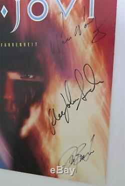 BON JOVI Signed Autograph 7800° Fahrenheit Album Vinyl Record LP by All 5 Jon