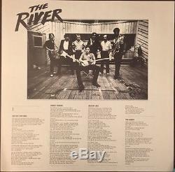 Bruce Springsteen Signed Album River Full Band 100% Authentic Guaranteed Coa Inc