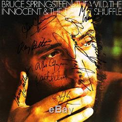 Bruce Springsteen Signed Album The Wild E Street Shuf100% Authentic Coa Included