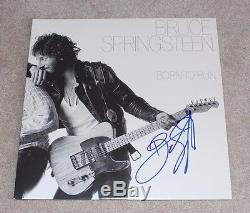 BRUCE SPRINGSTEEN SIGNED'BORN TO RUN' RECORD ALBUM VINYL WithCOA IN THE USA BOOK