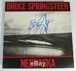 BRUCE SPRINGSTEEN Signed Autograph Nebraska Album Vinyl Record LP