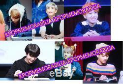 BTS Dark&Wild 1st Album Original Hand Signed Photo Proof COA Album CD + BOX
