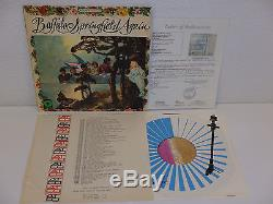 BUFFALO SPRINGFIELD Record Album SIGNED BY FULL BAND Early Signatures 67 JSA LOA