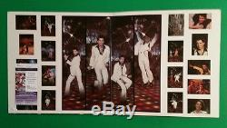 Barry Gibb Signed Saturday Night Fever Lp Album With Photo Proof And Jsa Coa