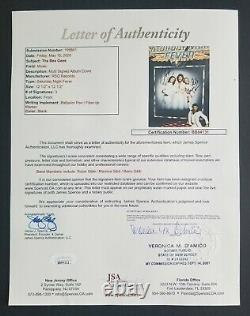 Bee Gees Barry Meurice Robin Gibb signed Saturday Night Fever album JSA COA psa
