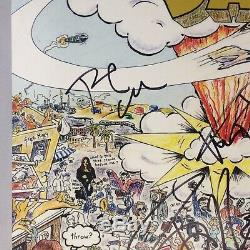 Billie Joe Armstrong Green Day x3 Signed Record Album PSA/DNA Autographed Dookie