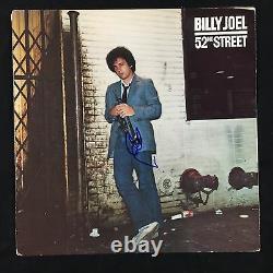 Billy Joel 52nd Street Signed Autograph Record Album JSA Vinyl #2