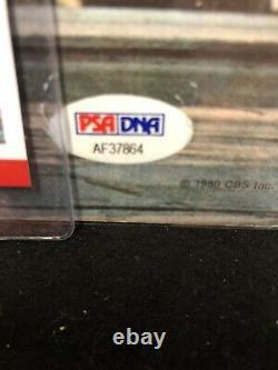 Billy Joel Glass Houses Autographed Signed Vinyl Record Album Psa/Dna COA