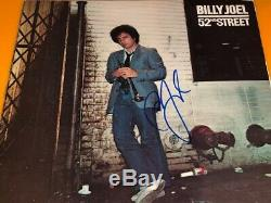 Billy Joel Signed Autographed 52nd Street Record Album LP