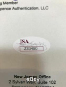 Black Sabbath Signed Autographed Sabotage Album Awesome Custom Framed JSA LOA