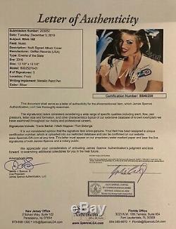 Blink 182 JSA Signed Autograph Album Vinyl Record Enema of the State
